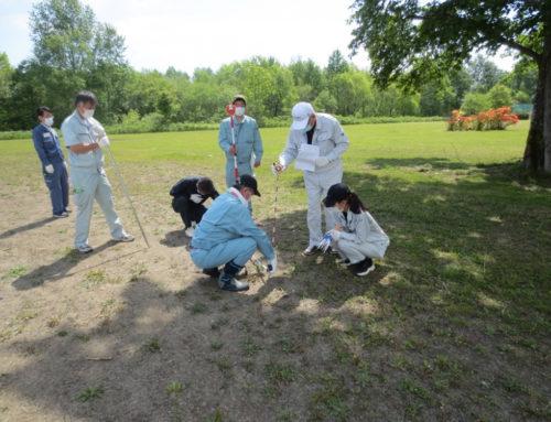 令和3年度「測量の日」推進事業『運動公園測量ボランティア』